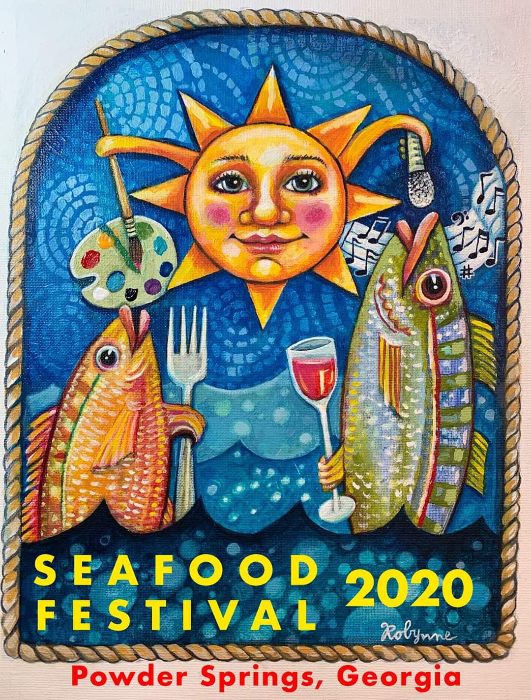 Bringing the Sea to the Springs Logo 2020