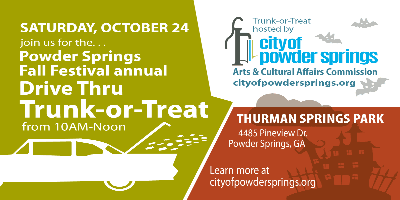 Trunk or Treat 2020 flyer